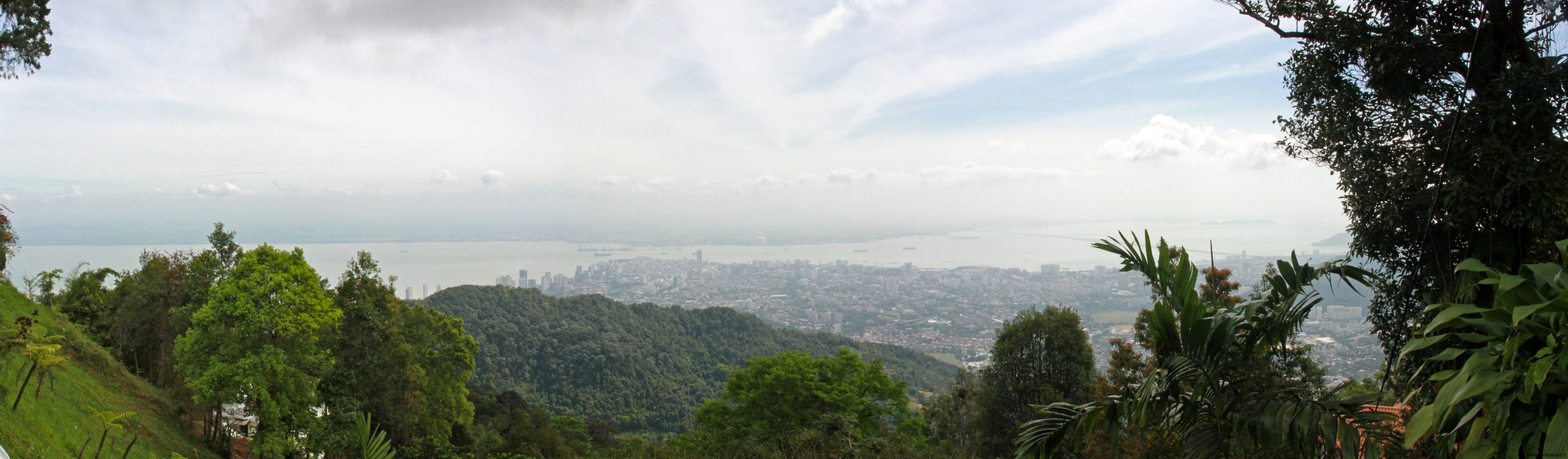 Penang Island - georgetown-from-penang-hill