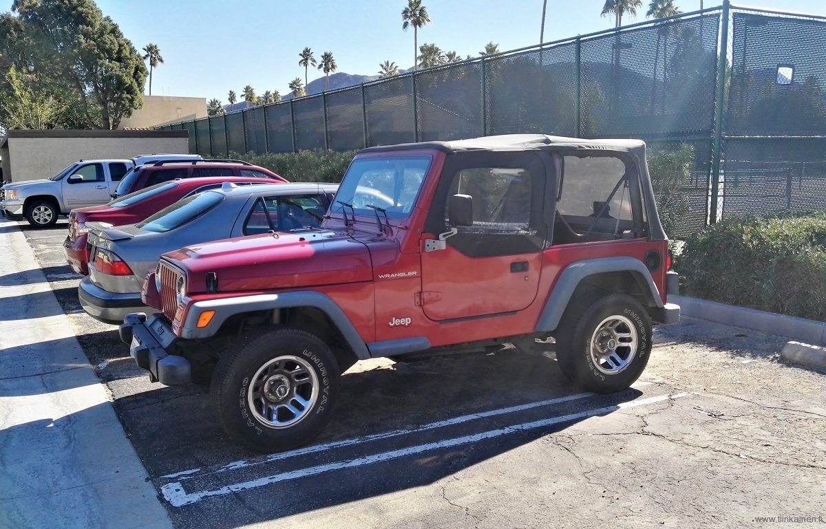 Jeep Wrangler convertible