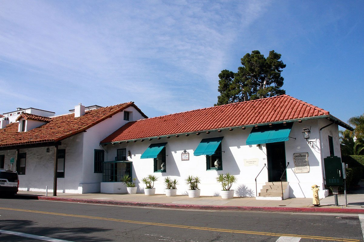 Oldest adobe house in Santa Barbara