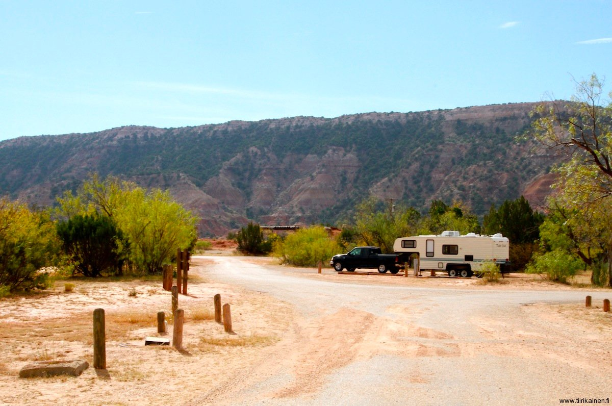 camping texas style in palo duro canyon