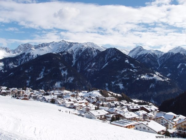 Serfaus Village seen from Südabfahrt